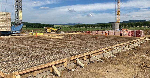 Stavba 1. etapy již běží v plném proudu. Podívejte se na fotografie.